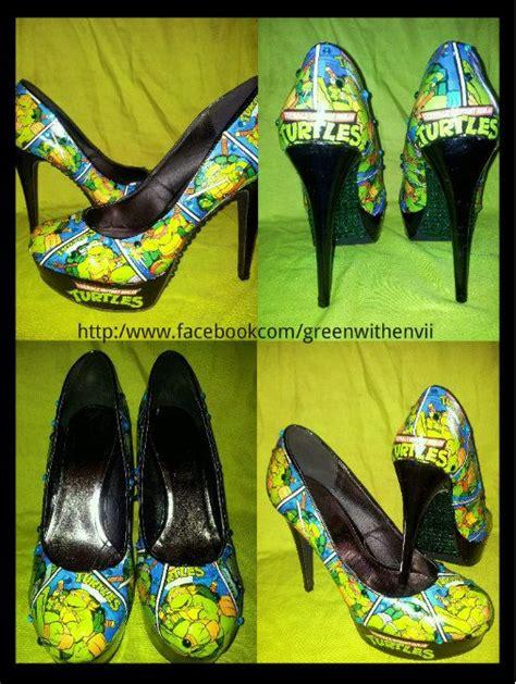 mutant turtles shoes tmnt custom shoes and mutant turtles on