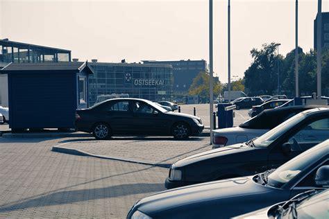 Car Park Southton Port by Ostseekai Kiel Parking At The Cruise Port Kiel Port