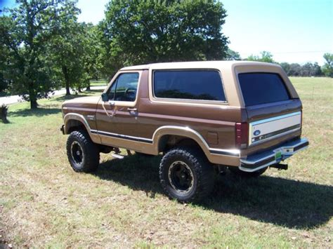1983 Ford Bronco by 1983 Ford Bronco Xlt 6 Quot Lift 4x4 Convertible 114 035
