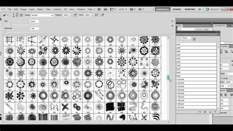 tutorial how to load new brushes in adobe photoshop how to load multiple photoshop abr brushes in one go