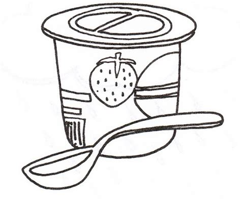 Yogurt Coloring Page free coloring pages of yogurt colorear