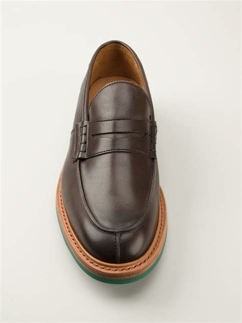 trickers loafers tricker s loafers in brown for lyst