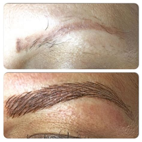 3d tattoo eyebrows 3d permanent eyebrow using a microblade