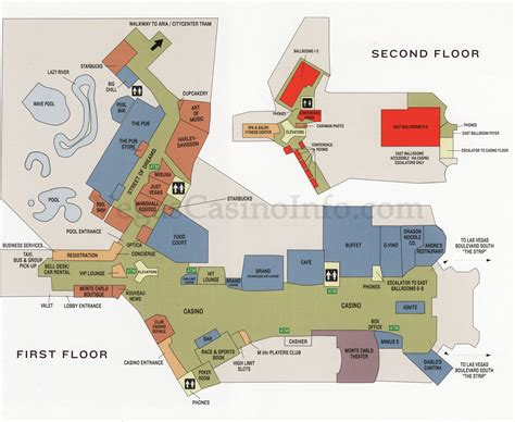 monte casino floor plan las vegas casino property maps and floor plans vegascasinoinfo