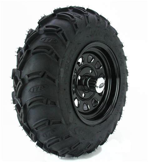 08 09 yxr700f rhino 700 fi itp mud lite at rear tire wheel