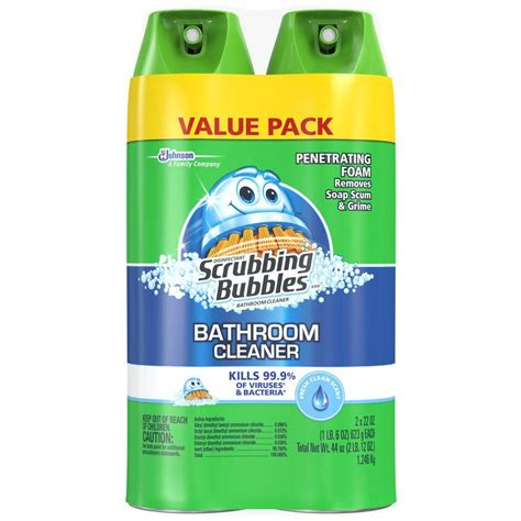 home bathroom cleaner scrubbing bubbles 22 oz fresh foaming bathroom cleaner 2
