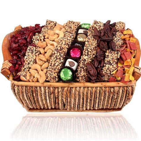 holiday medium wicker basket holiday nut gift baskets