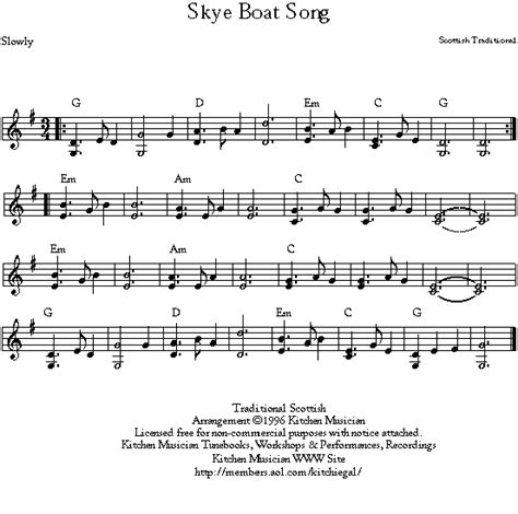 arran boat song sheet music gifs and midi files for hammered dulcimer and other