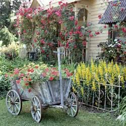 vintage backyard vintage furniture and garden decor 12 charming backyard ideas