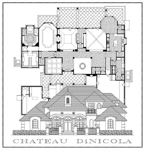 french chateau floor plans townhouse blueprint designs joy studio design gallery