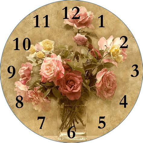 decoupage clock 1000 ideas about clock faces on decoupage