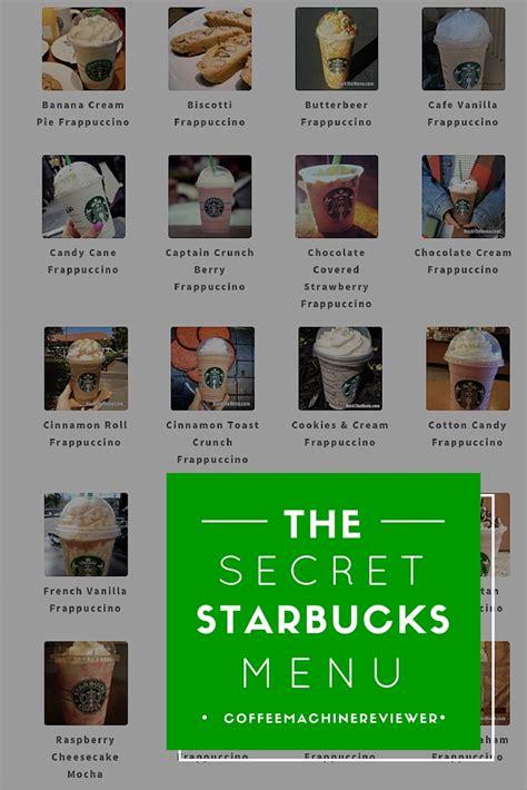 secret menu starbucks heaven you seen starbucks secret menu