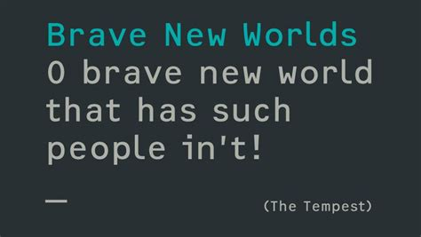 themes in the brave new world o brave new world that has such people in t