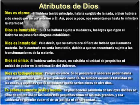 imagenes html atributos s o y e s p 237 r i t a 191 cu 225 les son los atributos de dios