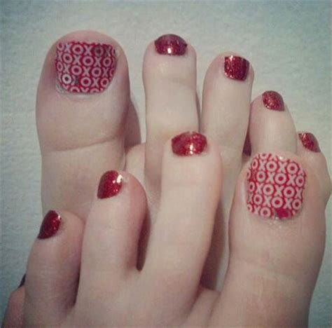 cute toe nail designs 2014 cute valentine s day toe nail art designs ideas 2014