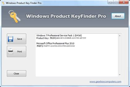 windows product key finder pro chip