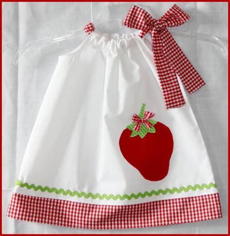 applique country country chic strawberry applique dress strawberry