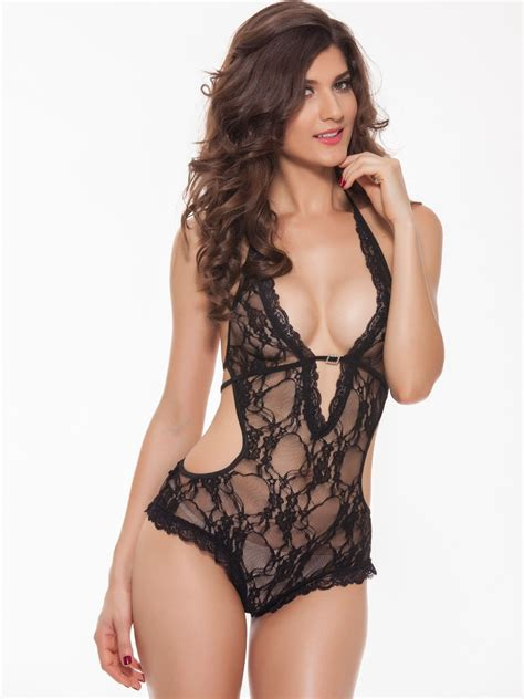 Bombay Home Decor buy costumes online black sheer lace bodysuit kl 1082