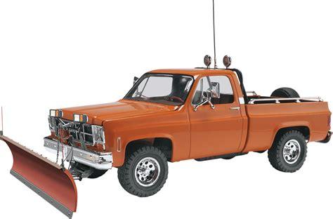 snow plow for truck revell 1 24 gmc 174 w snow plow plastic model kit