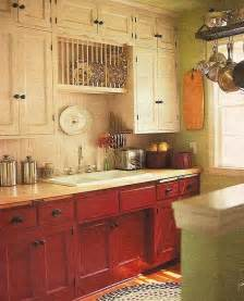 Red And White Country Kitchen - red and white country kitchen home sweet home pinterest