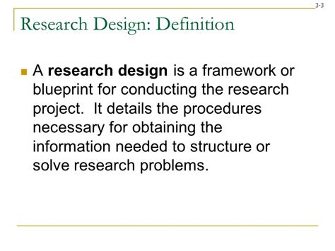 Design Definition Research | research design research method ppt video online download