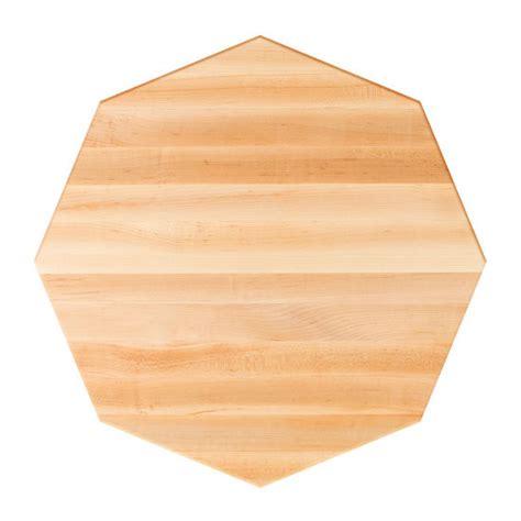 table tops octagonal maple butcher block table top
