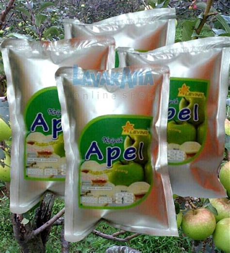 jual keripik apel malang paket jumbo  pack  lapak