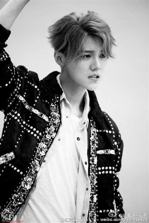 Lu Exo luhan channels his free spirit on the grazia cover