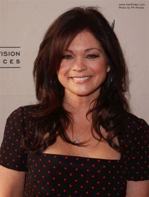 how to get valerie bertinelli current hairstyle valerie bertinelli long hair that makes a 50 plus woman