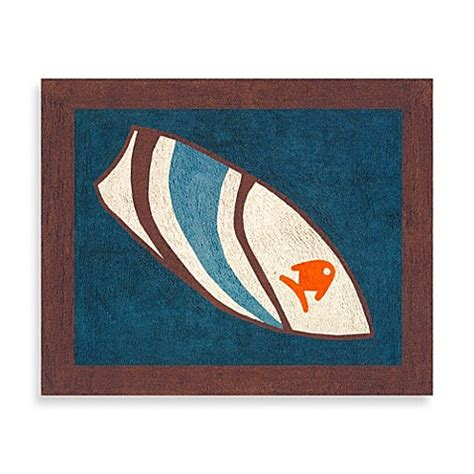 surfboard bathroom rugs sweet jojo designs surf accent floor rug in blue brown