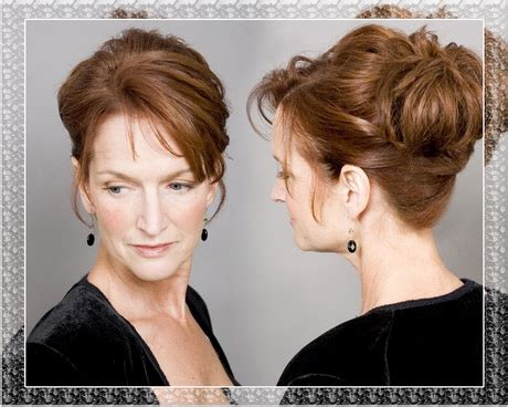 mother of the bride hairstyles partial updo mother of the groom hairstyles