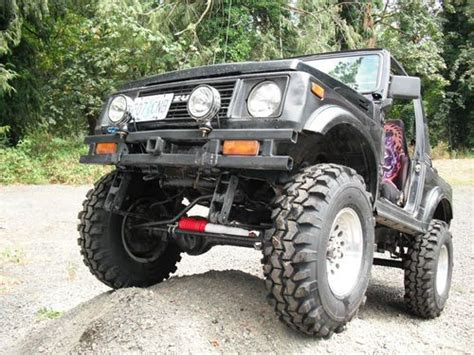 suzuki samurai lifted buy new 1986 suzuki samurai lifted 4x4 in irrigon oregon