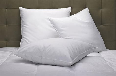 pillow with feather pillow marriott hotel store