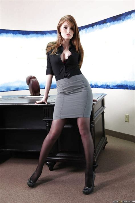 tight pencil skirt and heels images
