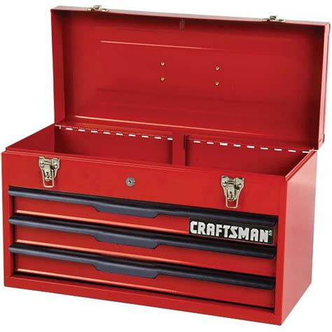 3 Drawer Craftsman Tool Box by Craftsman 3 Drawer Tool Chest Box Storage Cabinet Toolbox