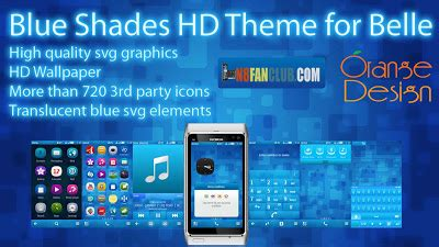 themes download for nokia n8 blue shades hd theme nokia n8 808 pure view symbian