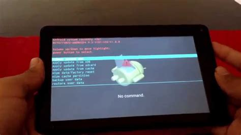 reset android tablet forgot password how to access your rca tablet if you forgot the password