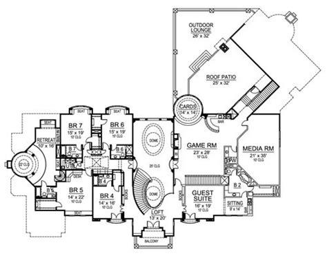 versailles florida floor plan european luxury house plan