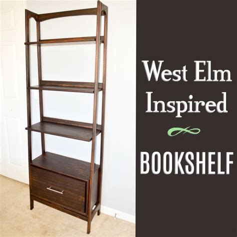 diy west elm inspired bookshelf my diy projects