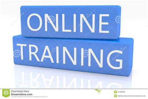 tutorial online online training stock photo image 45493506