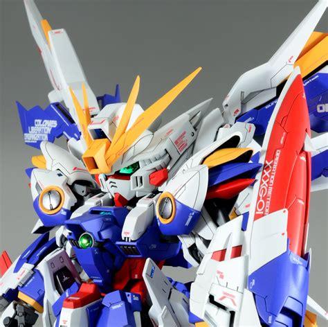 Sd Wing Zero Custom Gundam New Mib Endless Waltz Yolly custom build sd x mg wing gundam dominion gbwc 2016