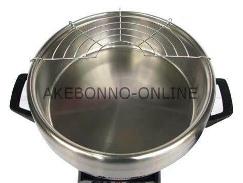 Panci Multi Fryer peralatan dapur akebonno 4 in 1 multi cooker
