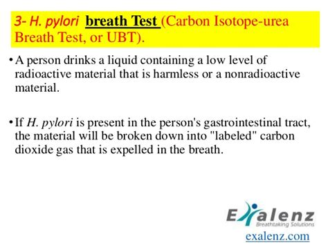 breath test helicobacter pylori helicobacter pylori
