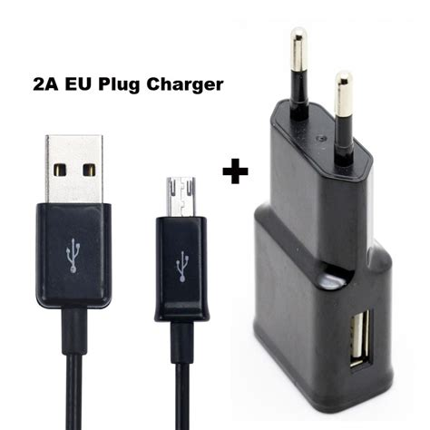 Charger Xiaomi 4ckabel C Output 2a 2a eu us adapter mobile phone wall charger usb data cable for xiaomi redmi 4 4a doogee x30 wiko