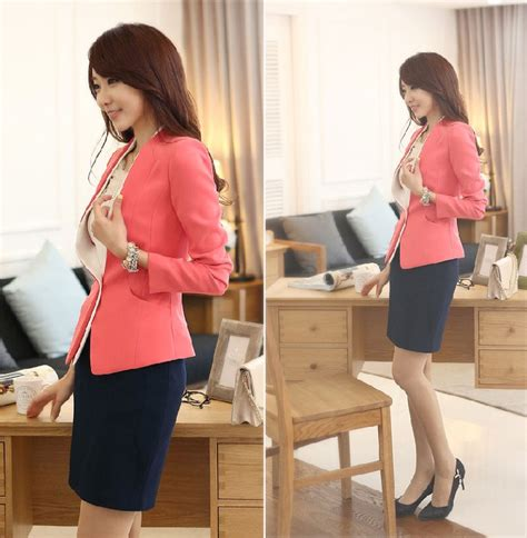 Blazer Cantik blazer wanita korea style cantik model terbaru jual murah import kerja
