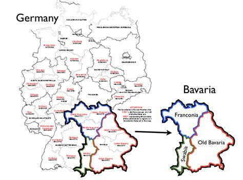 bavaria germany map bavarian separatism and the franconian issue geocurrents