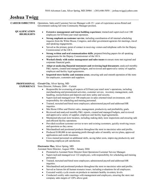 customer service manager resume sles best customer service manager resume resume ideas