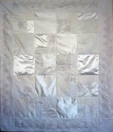 Wedding Dress Quilt Pattern by Preschool Quilt Is Made With Handprints And Names Of All