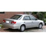 1998 Toyota Carina 16 GT Automatic Related Infomation