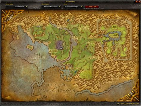 map world jungle stranglethorn jungle map wow screenshot gamingcfg